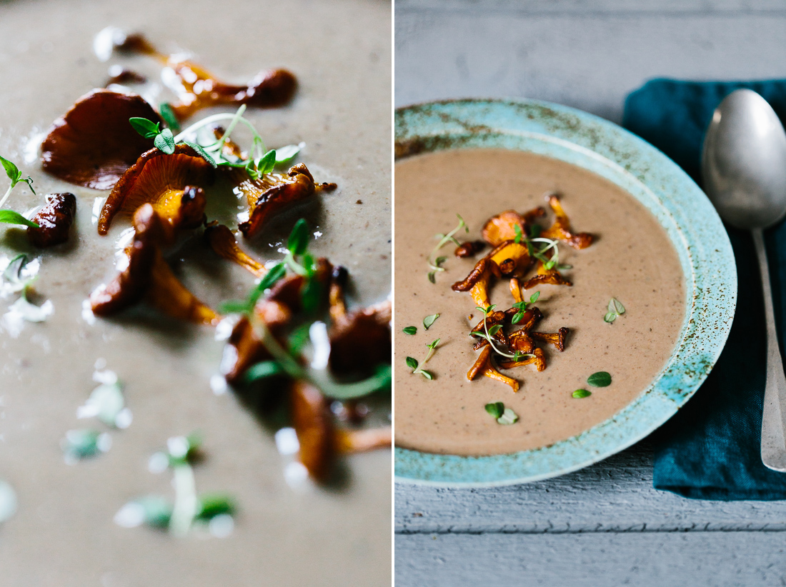 piroggi.com | Mixed mushrooms soup with chestnuts